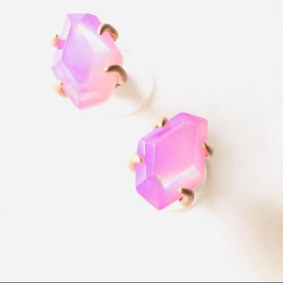 FIRM HP🎉Kenda Scott Iniyah Rose Gold Stud Earring